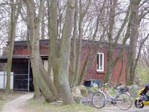 Gebäude des Notstromaggregats