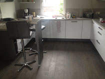 Moderner  Holzdielenoptik Fußboden
