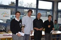 Le vainqueur du tournoi : Matthieu Cornette