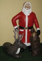 Betonfigur-Weihnachtsmann, ca.155cm hoch