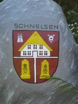 Schnelsen-Wappen nachgebaut mit freundlicher Genehmigung von W.Burmester