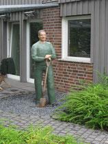 Betonfigur-Gärtner