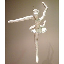 Ourania Ballerina . 2013 cedar saw dust, pigments and french polish. Signed and dated. H 420 x W 320 x D 520 MM AU$1,190