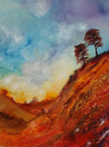 La Palma Acryl auf Aquarellpapier 56x76 cm, vergeben