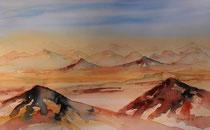 gemaltes Bild, Aquarell 30x45 cm