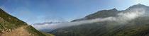 Nebelreste mit Panorama