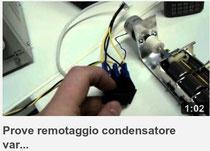 Primi test per l'accordatore remoto