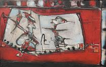 Acrylic on Canvas, 100x65cm / 2cm