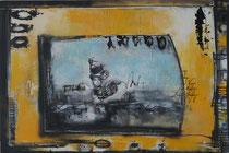 Acrylic on Canvas, 90x135cm / 3cm