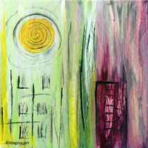 abstrakt_09, Acryl 40x40
