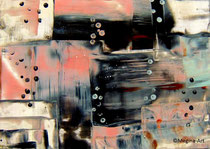 abstrakt (2), Encaustic