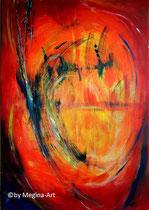 Gestalt, Acryl 70x100