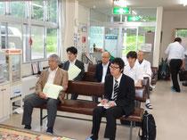 NHKで放映された過疎の町の診療所日記を鑑賞していただきました