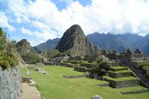 Machu Picchu mit Wayna Picchu, 2700 müM