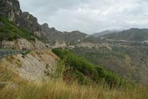 Dalmatinische Küste bei Polce