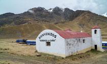 Pass la Raya, 4319 müM