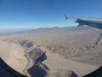 Flug nach Calama, Chile