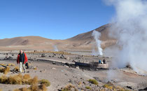Geysire El Tatio, Chile