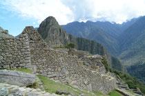 Inkastadt Machu Picchu, gegründet um 1450