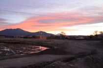 Sonnenuntergang, San Juán de Rosario, Bolivien