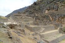 Inkafestung Ollantaytambo, Peru