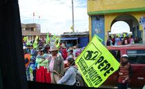 Parteiveranstaltung, Altiplano, Peru