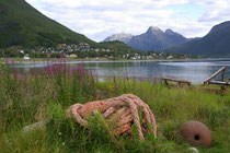 Sigerfjord auf der Insel Hinnøya, Norwegen