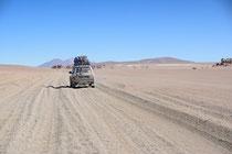 Desert Siloli, Bolivien