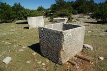 alte Olivenbehälter, Insel Brac