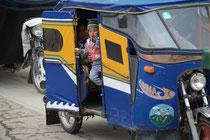 Taxi im Altiplano