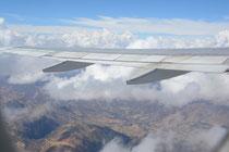 Flug nach Lima, Peru