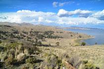 Peninsula de Huata, Lago Titicaca, 3810m