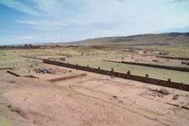 Ruinen von Tiwanaku, Bolivien