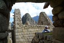 Inkastadt Machu Picchu, Peru