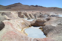 Geysire Sol de Mañana, 4900m, Bolivien
