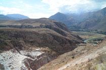 Salinas von Maras, bei Urubamba, Peru