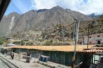 Unterwegs im im Tal des Rio Urubamba, Peru