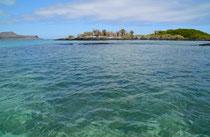 Punta Cormorán, Isla Floreana