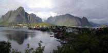 Reine auf der Insel Moskenesøya