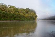 auf dem Rio Manú, Peru