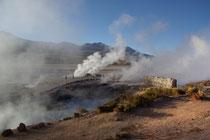Geysers del Tatio, 4320m