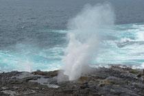 Südküste Isla Españolas, Blowhole