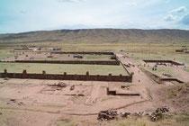 Ruinen von Tiwanak, Bolivien