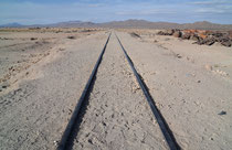 Eisenbahnfriedhof bei Uyuni; Bolivien
