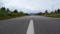 Weg nach Kiruna