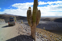 Strasse zum Salar de Uyuni: Bolivien