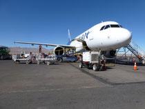 Flugplatz Calama, Chile