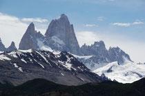 Cerro Fitz Roy 3405m, Los Glaciares NP