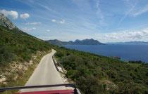 Küste bei Dingac, Halbinsel Peljesac