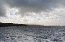 Überfahrt auf die Orkney Islands